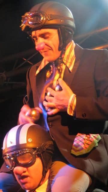 """Spectacle clown jonglerie """"Russule & Boulon"""" (07)  La Chèvrerie 2016"""