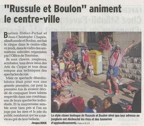 spectacle clown, cie arts de rue rhone alpes